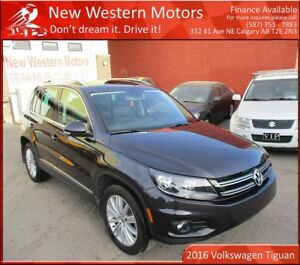 2016 Volkswagen Tiguan Highline! Fully Loaded!! Accident Free!!!