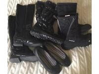 Job Lot boots and shoes size 4/5