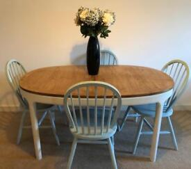 Table and chairs - up cycled