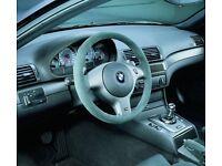 BMW CSL M3 alcantara original Steering wheel