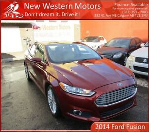 2014 Ford Fusion SE! Remote Start! Accident Free! B. Cam!