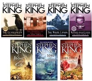 The Dark Tower Collection Complete Series 1-7 by Stephen King. NEW! Gunslinger!