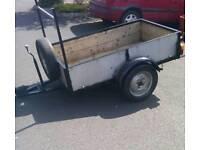 "6ft X 3ft 6"" Car trailer"