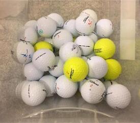 25 Titleist DT Solo Grade A golf balls