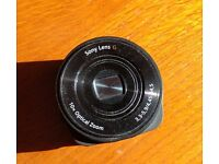 Sony DSC-QX10 stand alone lens. Can be linked/ attached to your smartphone.