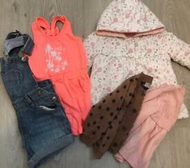 6-9 months girls bundle.