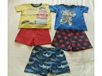 Boys Age 3-4 years Summer Pyjamas
