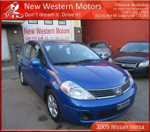 2009 Nissan Versa SL! Accident Free! 2 Sets of Tires!