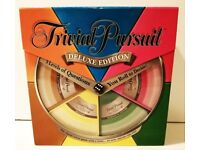 Trivial Pursuit Deluxe Edition Used Once