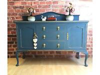 Unique Vintage Cabinet Sideboard Buffet Local Delivery Avaliable