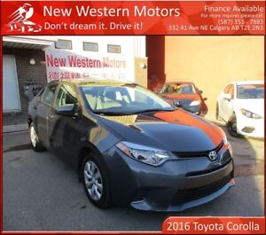 2016 Toyota Corolla LE!! THE ULTIMATE DAILY DRIVER!
