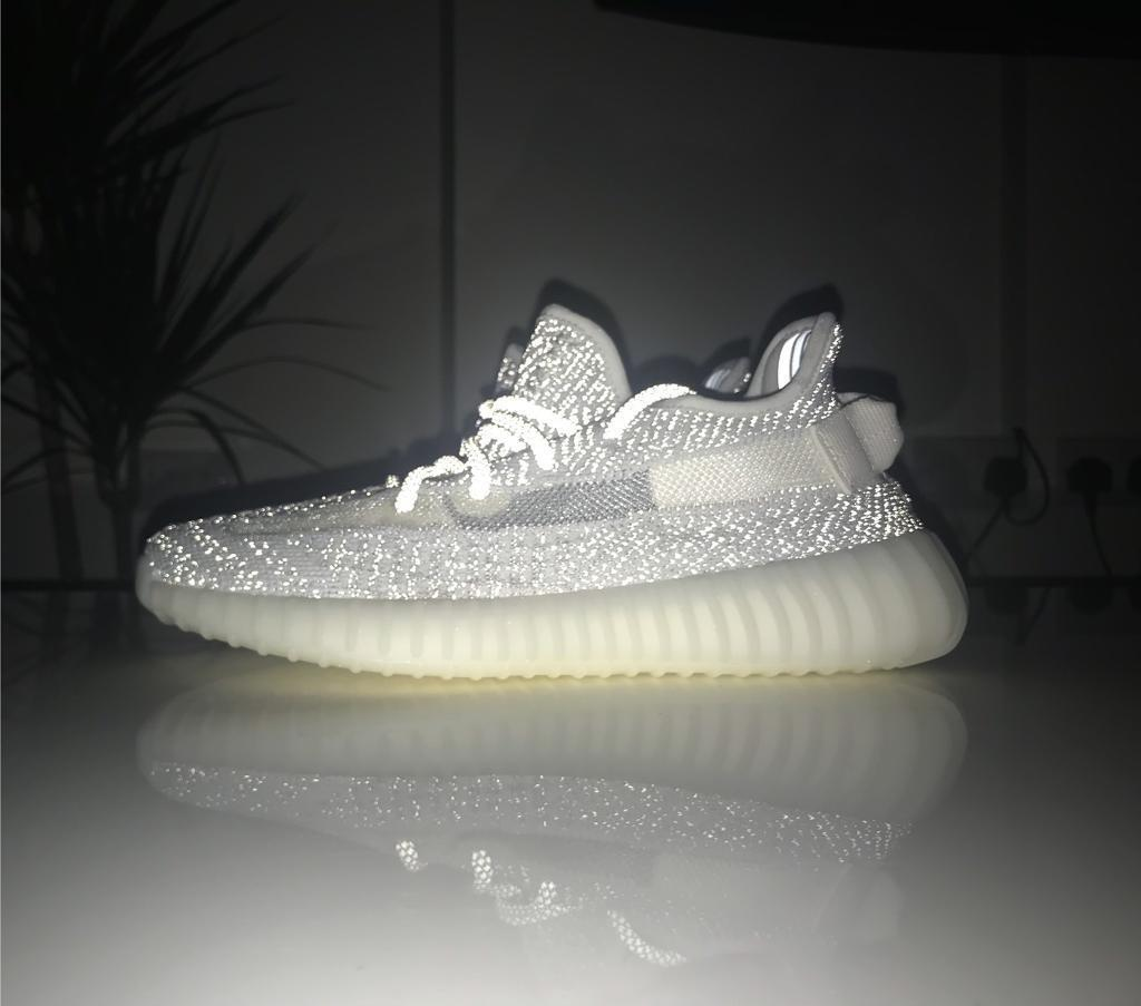 7341305c8 Yeezy 350 V2 Static 3M Reflective Size 5.5 UK