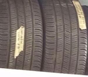 Two 225 45 18 tires for sale