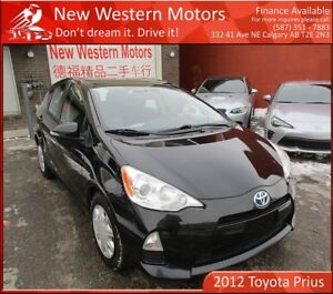 2012 Toyota Prius c CVT! Bluetooth! Touchscreen! Accident Free!!