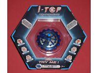 i-Top 'Meca Gear Blue' Spinning Top (new)