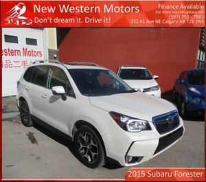 2015 Subaru Forester 2.0XT Touring!! ONE OWNER NO ACCIDENT!!!