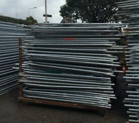 🏗 50 X Used Heras Security Fence Panels > Site Security