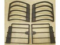 Genuine Range Rover P38 Rear Light Guards by Land Rover
