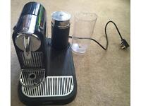 Magimix Nespresso Coffee machine and milk Frother