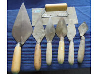 Trowels for Grouting, Plastering
