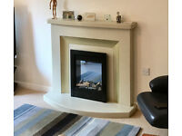 Stone Effect Fire Surround