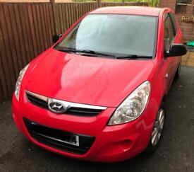 2010 Hyundai i20 Red 1.2L