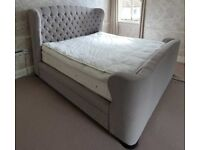 John Lewis Super King Chesterfield Style Bed, RRP, £1800