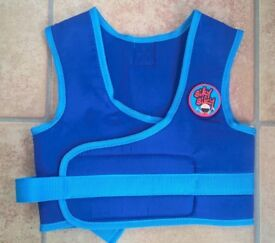 Bikybiky jacket with handle on back to help kids learn to ride!