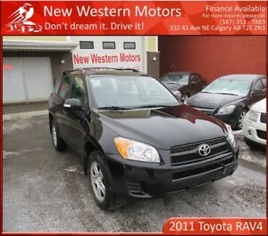 2011 Toyota RAV4 Low KM! 2 Sets of Tires! Accident Free!!