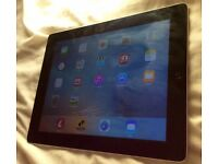 iPad 3rd gen 32gb great condition silver and black
