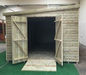 Custom Sheds- Sheds and summerhouses made to any size