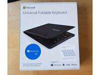 Microsoft Universal Foldable Bluetooth Keyboard Laptops and tablets