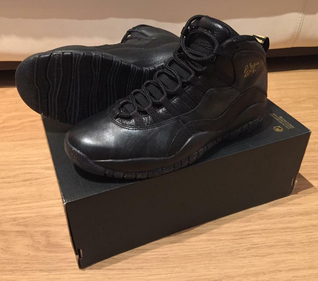 cc8dffd920f1 Brand New In Open Box. Men s Nike Air Jordan Retro 10 NYC Trainers. UK 7.5.  Limited edition