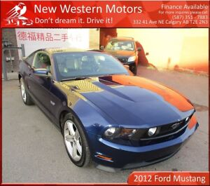 2012 Ford Mustang GT 5.0 V8!! LOW KM!!
