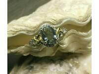 Gold filled 14k dress /engagement ring