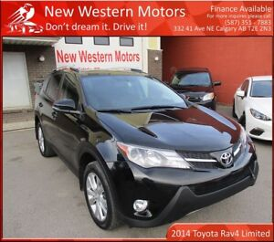 2014 Toyota RAV4 Limited! Accident Free!! AWD!!