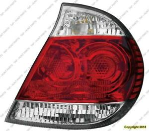 Tail Light Passenger Side Le/Xle High Quality Toyota Camry 2005-2006