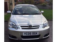 Toyota Coralla 1.4 2005 £ 1199