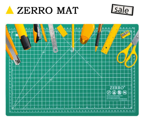 Cutting Mat Guidelines Self Healing Board Double Sided Multifunction Mat