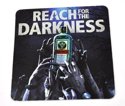 Jägermeister USA Bierdeckel Untersetzer Coaster Zombie Halloween Reach Darkness