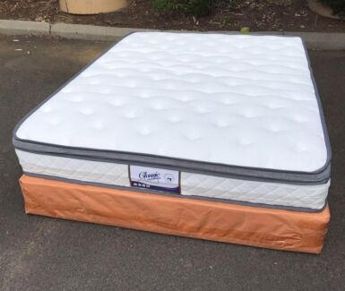 Brand new pocket spring eurotop mattress Double$330,Queen$350