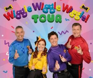 WTB The Wiggles Tickets for 3 persons O'Connor North Canberra Preview