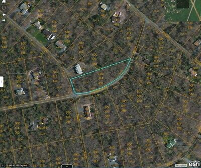 1.13 Acre Land Corner Lot in Pocono Mountains