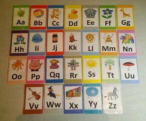 Alphabet Capital Letters Flash Cards