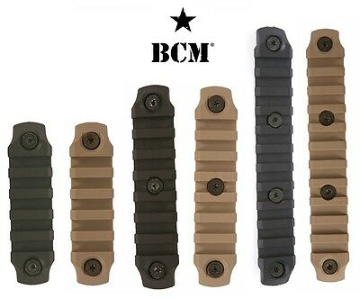 Bravo Company Bcm Keymod Polymer Rail 3  4  5 5  Black Or Flat Dark Earth