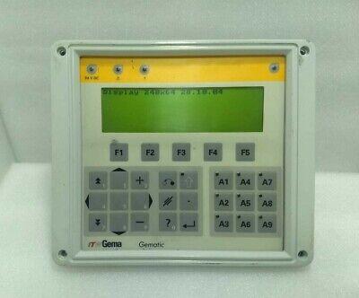Itw Gema 23030000000835 Version.0009 Control Panel Gematic