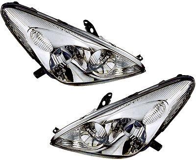 Lexus Es300 Set - Halogen Headlights w/Bulb Left & Right Pair Set NEW for 02-04 Lexus ES300 ES330