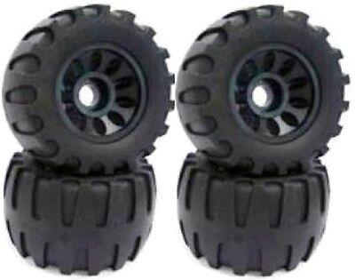 New 113X64mm Off Road Longboard/Mountainboard Rubber Wheel W/Hard Core Set of 4