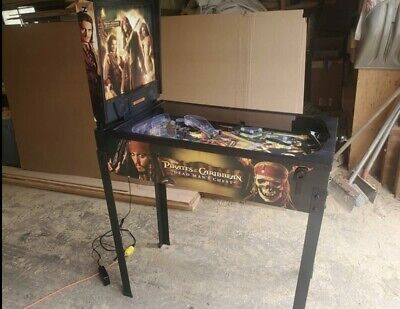 ZIZZLE Pirates of the Caribbean Dead Man's Chest Pinball Machine Fully Working