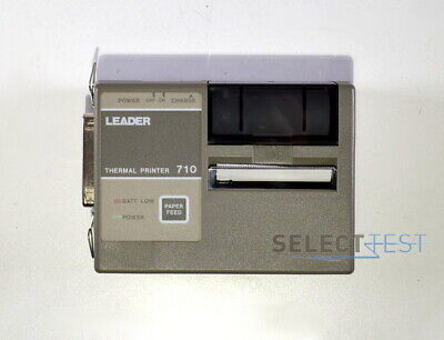 Leader 710 Thermal Printer For Dmmscope 100p Or 200 Ref267